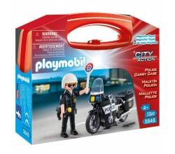 Maletin Policia Playmobil...