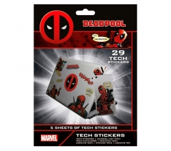 Set 29 vinilos Deadpool Marvel