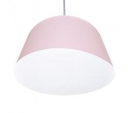Lámpara Colgante Aluminio Ø 250Mm (Sin Bombilla) Rosa Presley [SKD-P032-S-P]