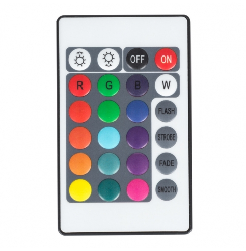 Controlador WIFI Doble Tira LED RGB Comptable Alex/Google Home con Mando [TB-WFXB-IR24]