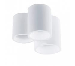"""Lámpara de Techo estilo moderno \""""BANJIE\"""" 3XGU10 Sin Bombilla  [FAN-I-BANJIE-PL3]"""