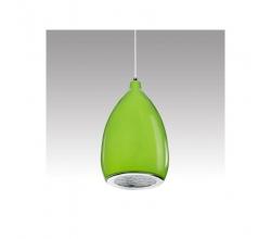 Lámpara LED Colgante Pera Verde 12W 1100Lm 30.000H Summer [HO-SUSP12W-A-G-WW]