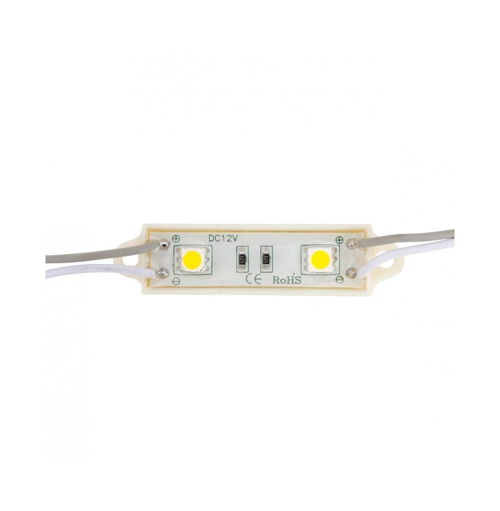 Módulo 2 LEDs SMD5050 0,48W