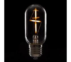 Bombilla de LEDs Filamento Vintage T45 E27 3W 300Lm [WO-LF-T45CR-E27-3W-WW]